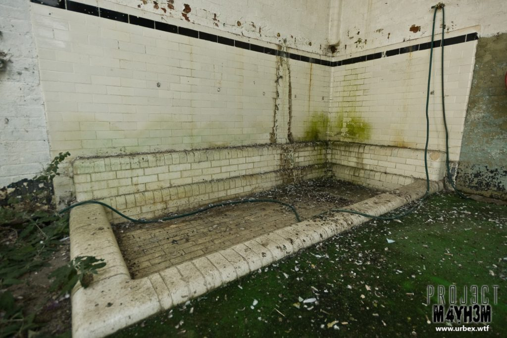 The Leeds Reformatory for Boys aka Eastmoor Approved School - Showers