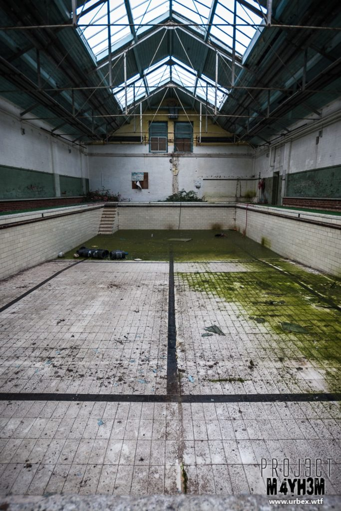 The Leeds Reformatory for Boys aka Eastmoor Approved School - The Pool