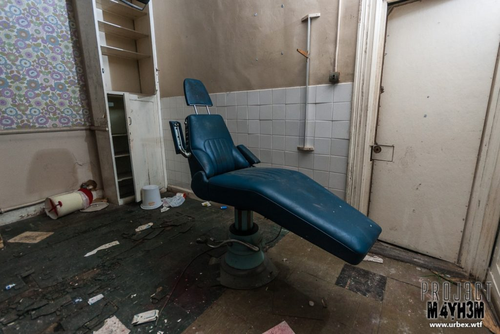 The Leeds Reformatory for Boys aka Eastmoor Approved School - The Dentist Chair