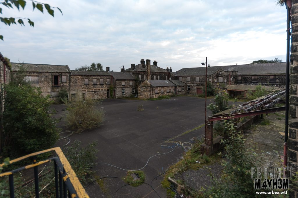 The Leeds Reformatory for Boys aka Eastmoor Approved School - Courtyard