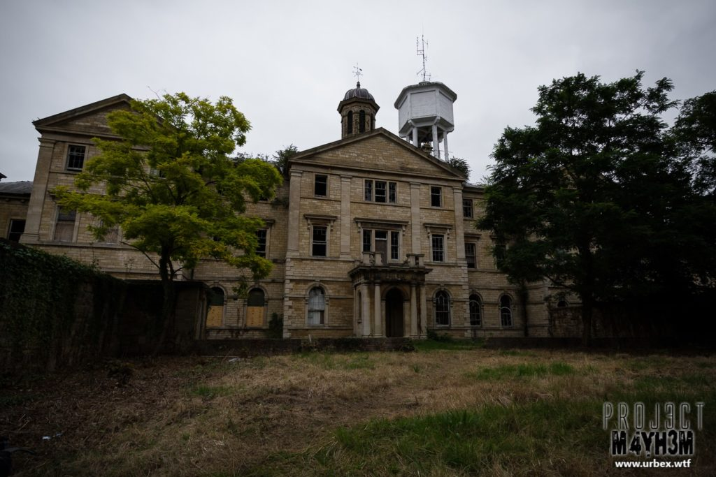 The Lincolnshire County Pauper Lunatic Asylum Exterior