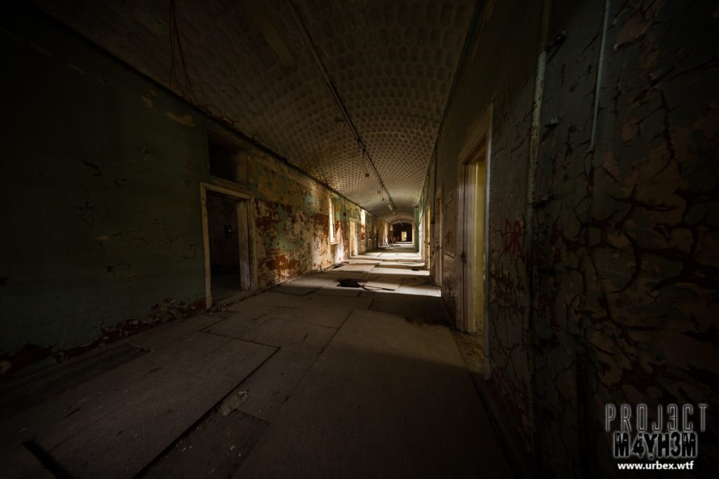 The Lincolnshire County Pauper Lunatic Asylum Corridor