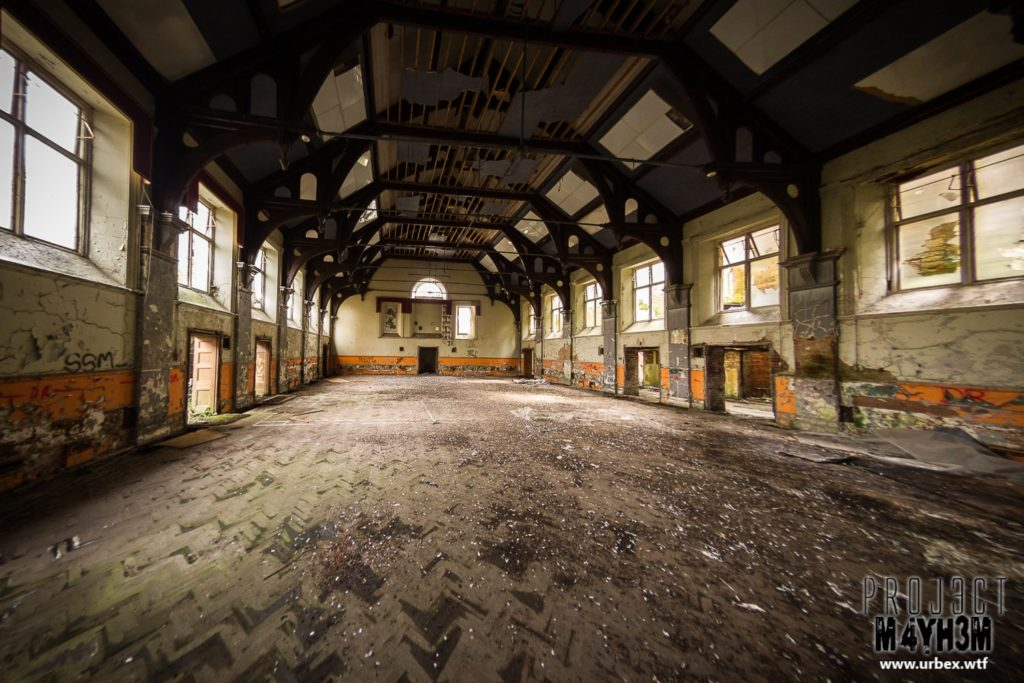 The Lincolnshire County Pauper Lunatic Asylum Main Hall