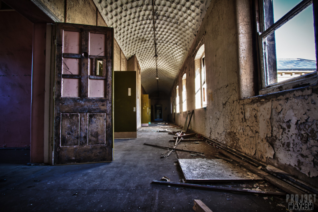 Cells - Lincolnshire County Pauper Lunatic Asylum