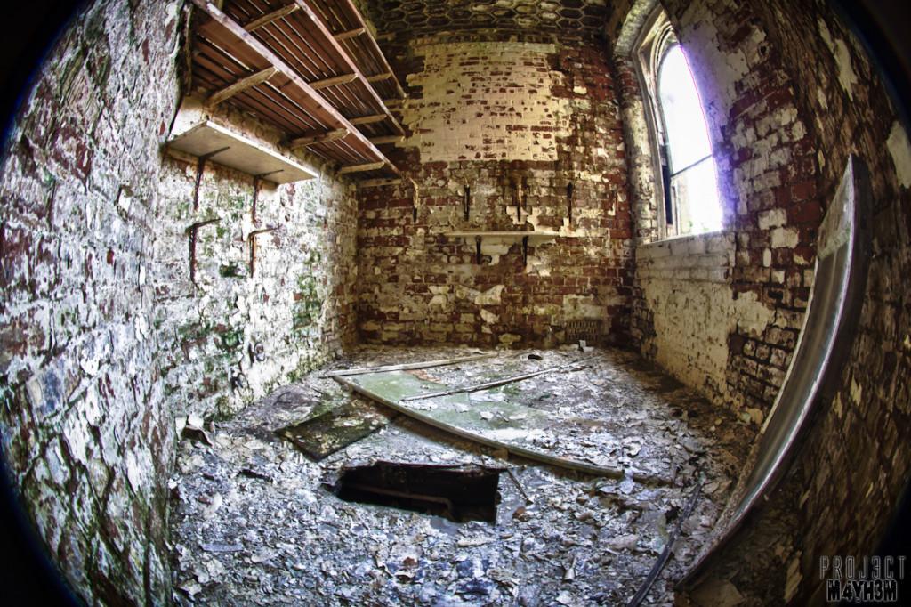 Hole - Lincolnshire County Pauper Lunatic Asylum