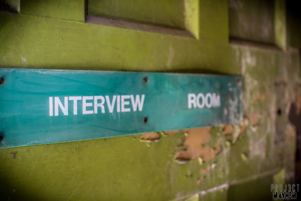 Interview Room - The Lincolnshire County Pauper Lunatic Asylum-35