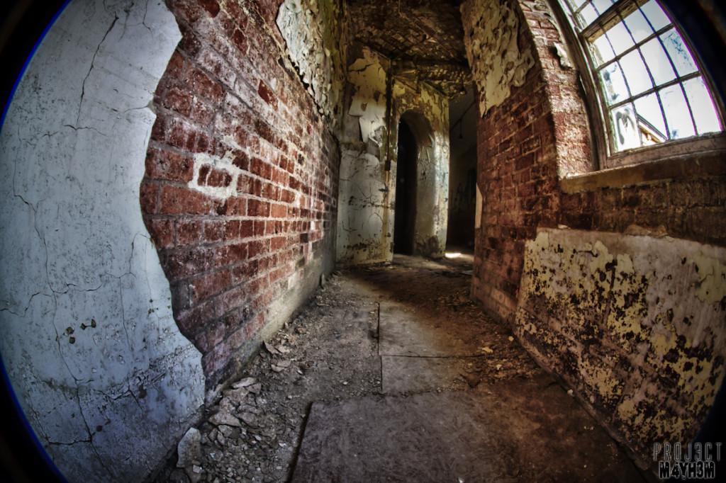 Bare brick - Lincolnshire County Pauper Lunatic Asylum