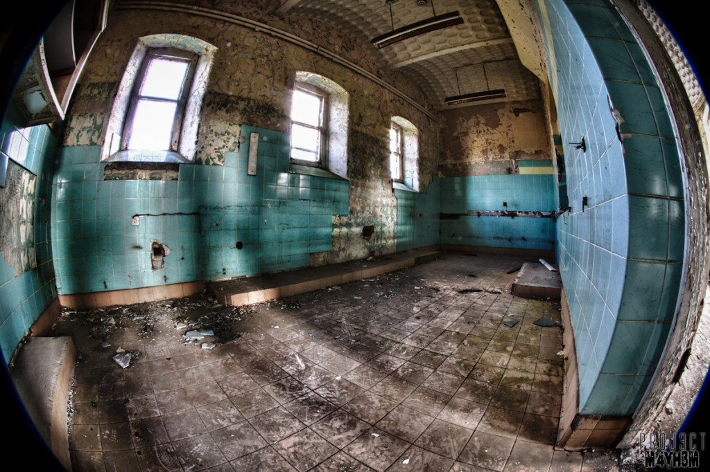 Wash Room - Lincolnshire County Pauper Lunatic Asylum