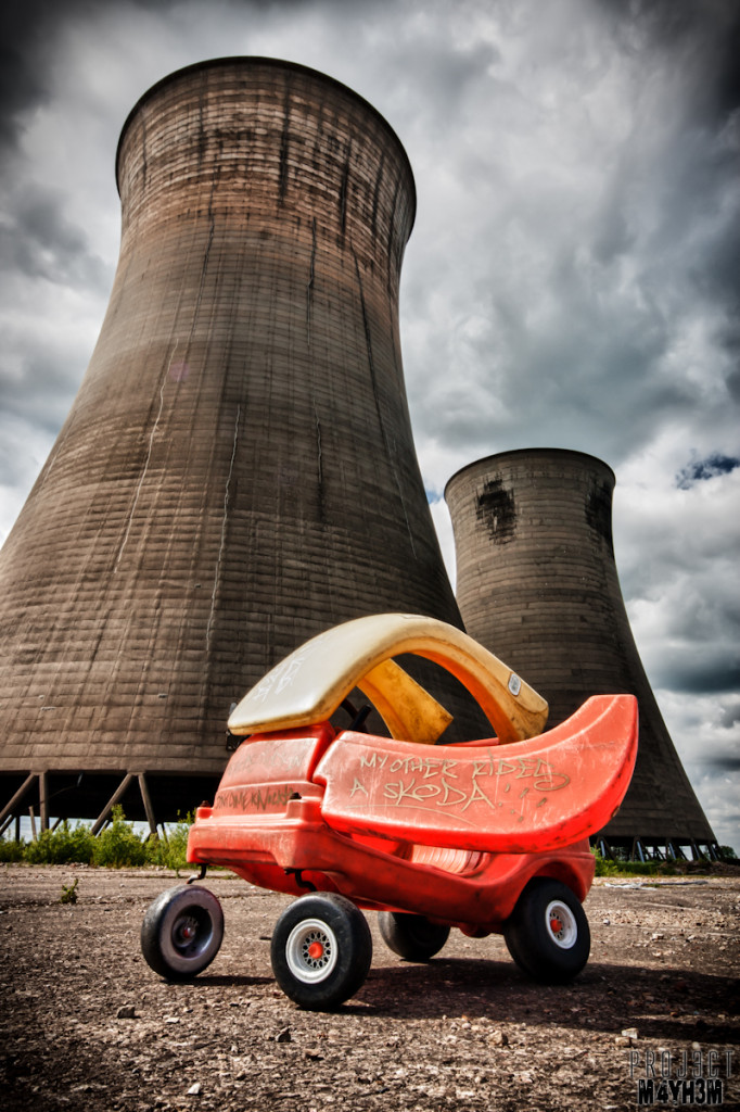 Thorpe Marsh Power Station - My Other Car is a Skoda