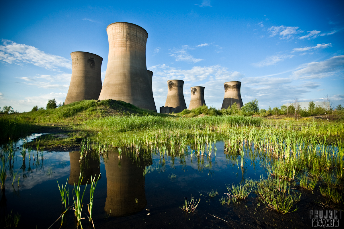 Thorpe Marsh Power Station - Cooling Towers