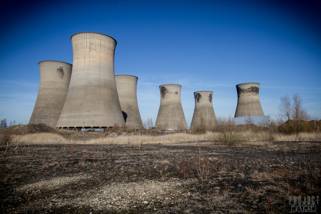 Thorpe Marsh - Cooling Towers