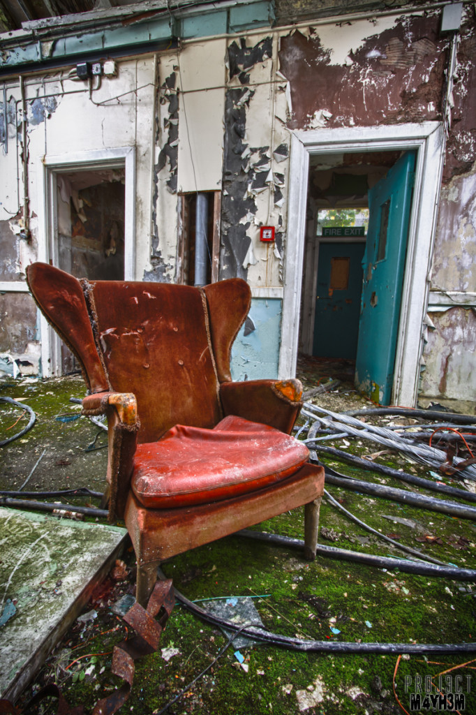 Whittingham Lunatic Asylum - Take a seat...