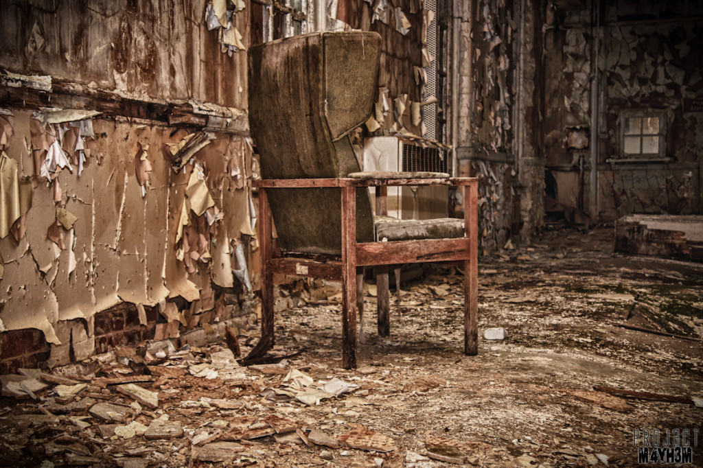 West Park Lunatic Asylum - Chair