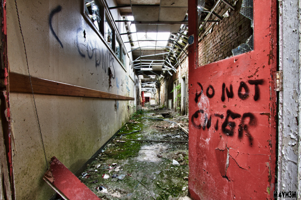 Whittingham Lunatic Asylum - Do Not Enter