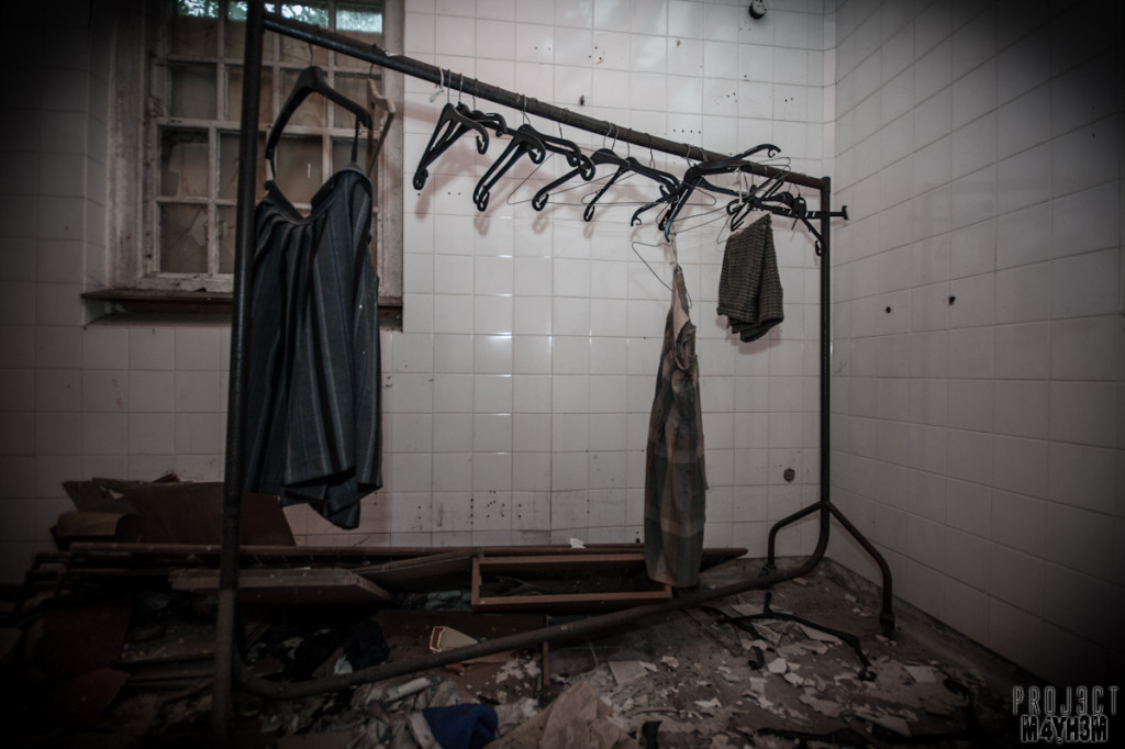 West Park Lunatic Asylum - Clothes Left Behind