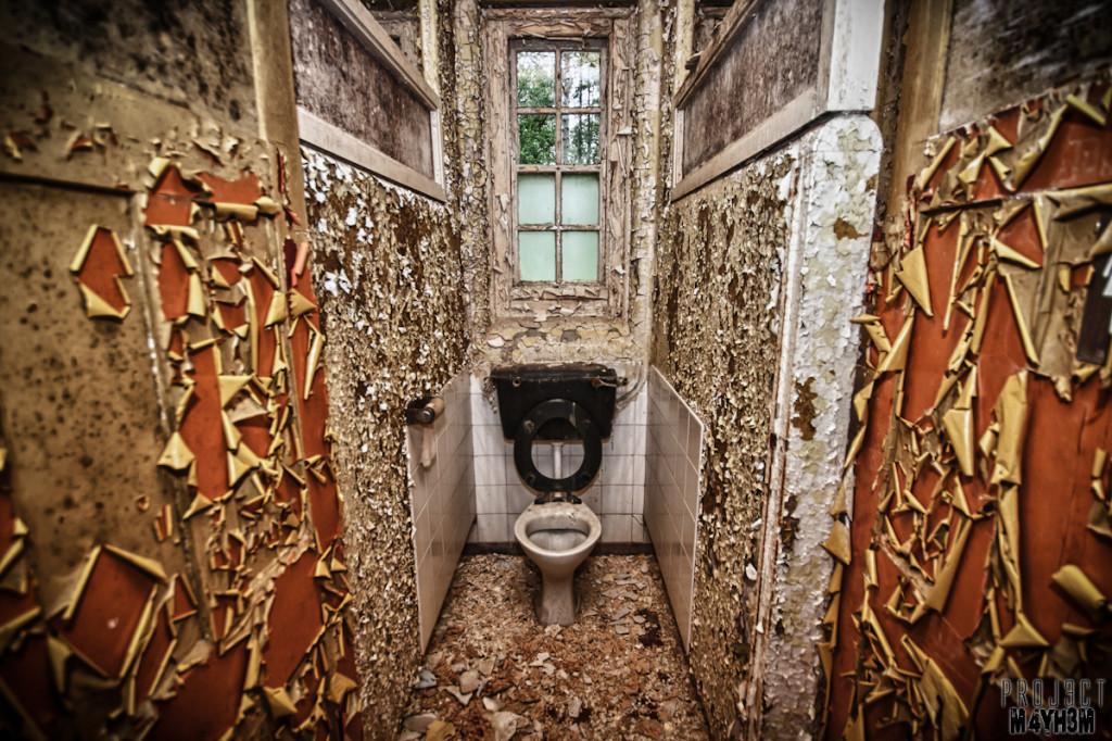 West Park Lunatic Asylum - Toilet