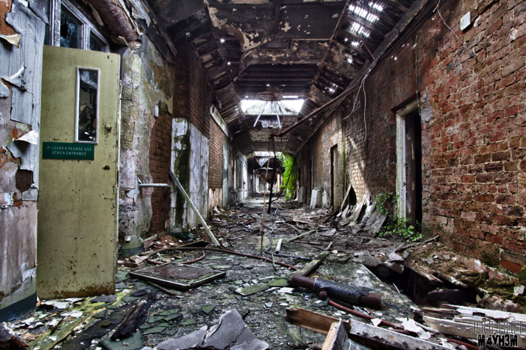 Whittingham Lunatic Asylum - Corridor