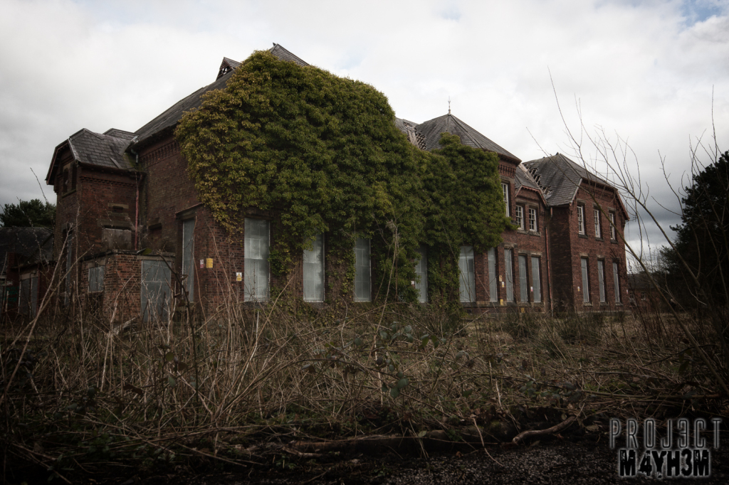 Whittingham Lunatic Asylum - Exterior