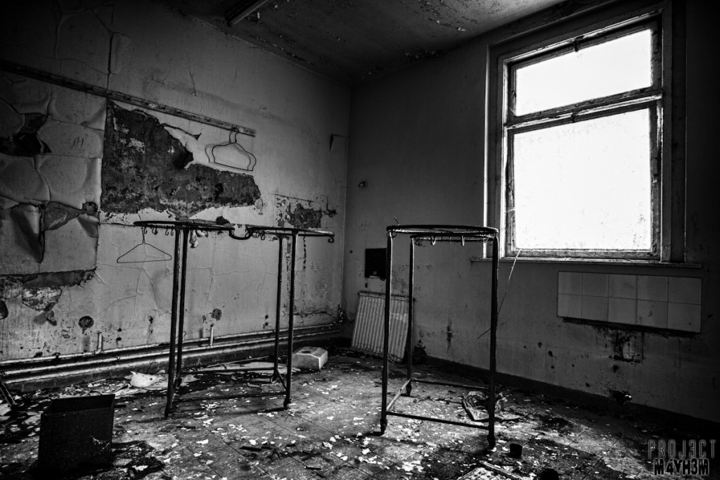 Whittingham Lunatic Asylum - Hang your coat here