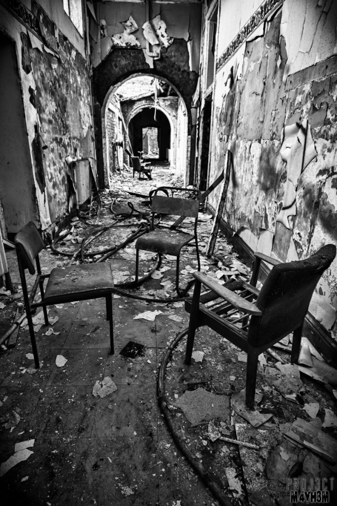 Whittingham Lunatic Asylum - Ghosts tea party