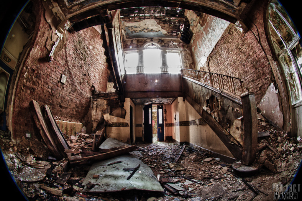 Whittingham Lunatic Asylum - No Stairs No Problem
