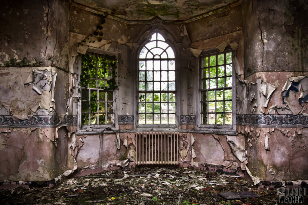Whittingham Lunatic Asylum - Bay Window