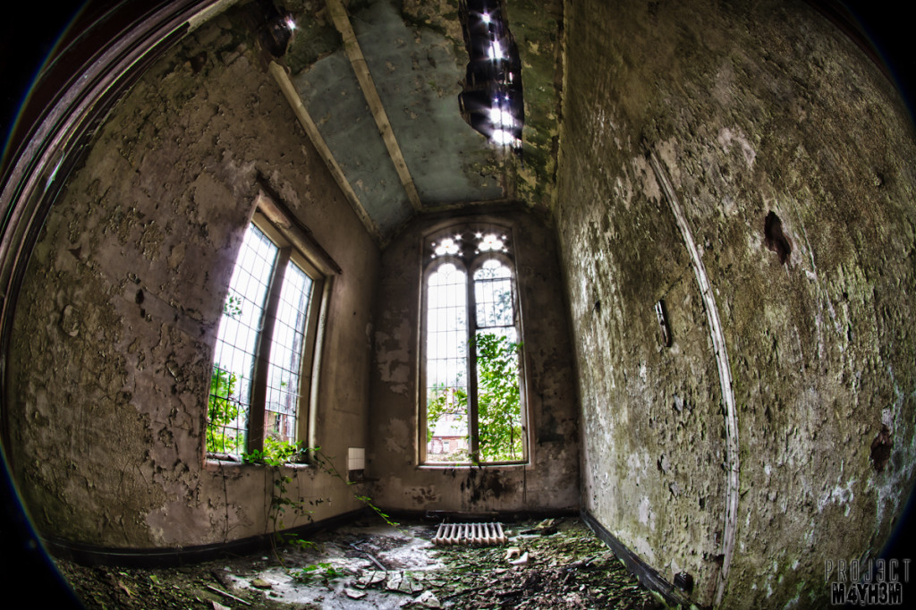 Whittingham Lunatic Asylum - Chapel