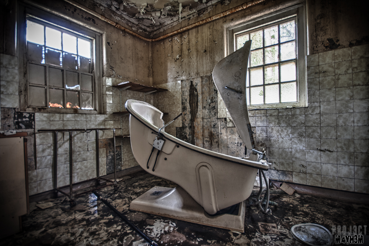 Whittingham Lunatic Asylum -Bath Time!