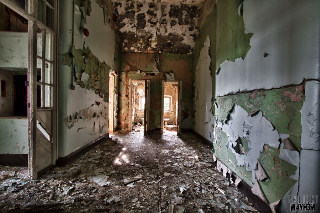 Whittingham Lunatic Asylum - Ladies and Gents