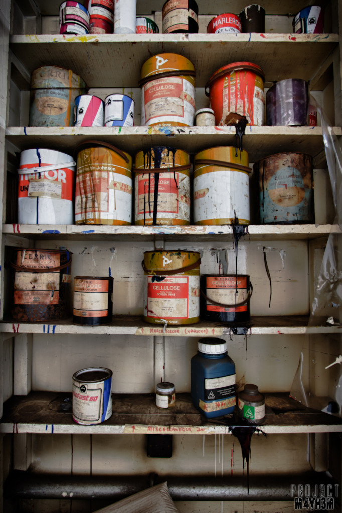 Woollens & Co Paint Cupboard