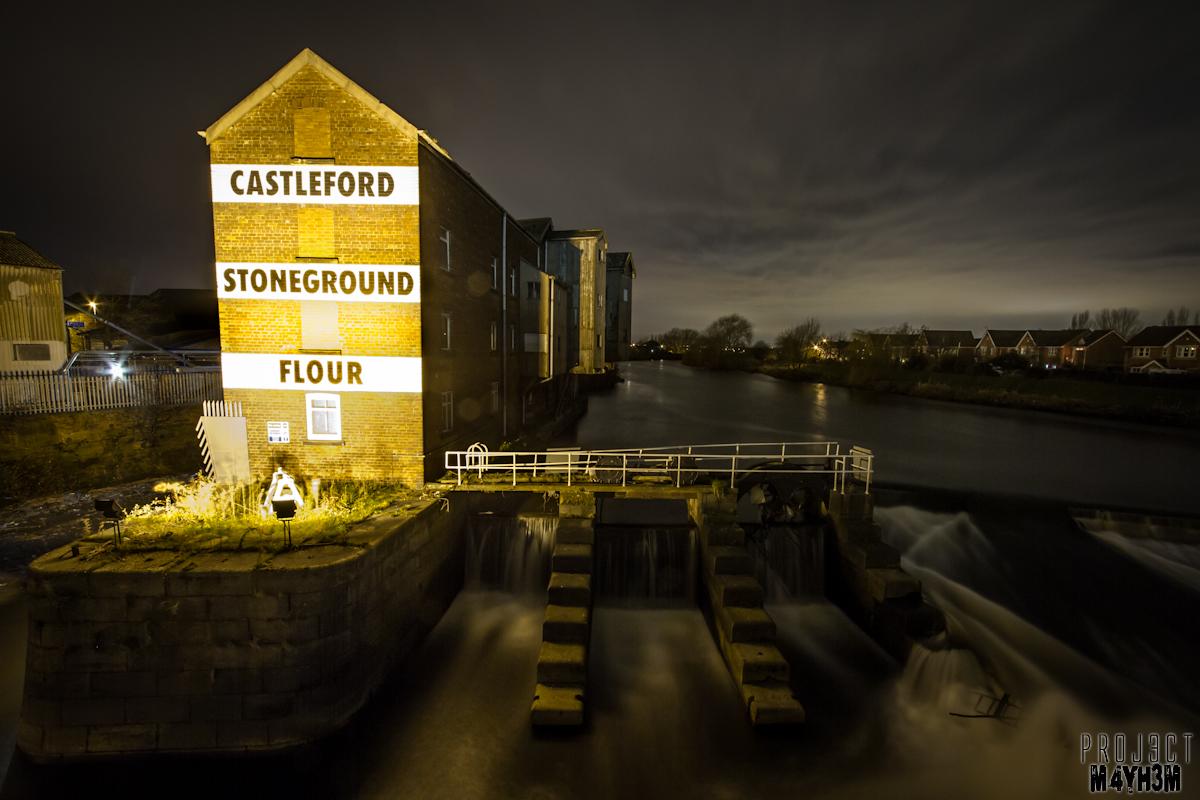 Allinson Mill aka Castleford Stone ground Flour