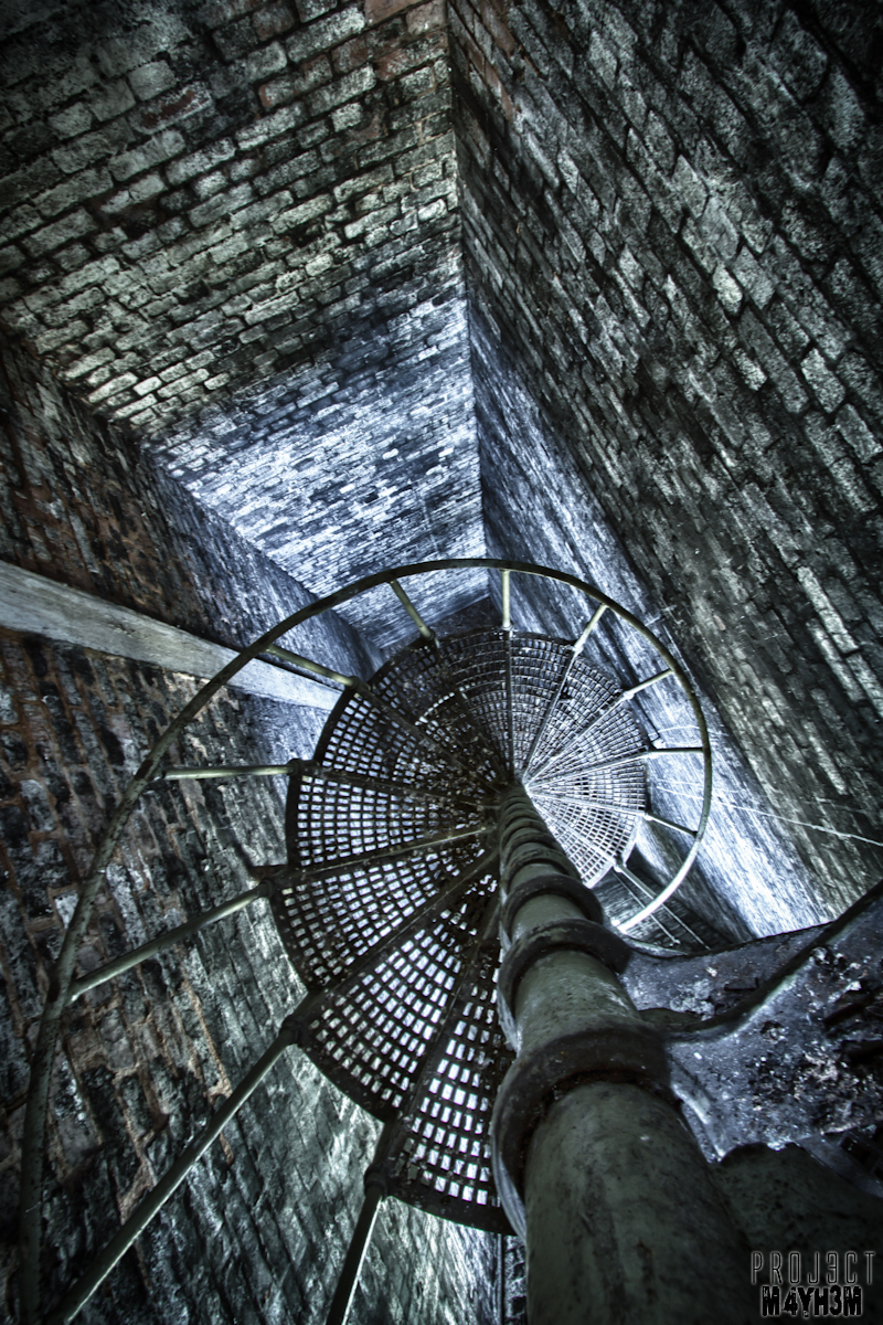 Clipstone Colliery - Spiral Staircase