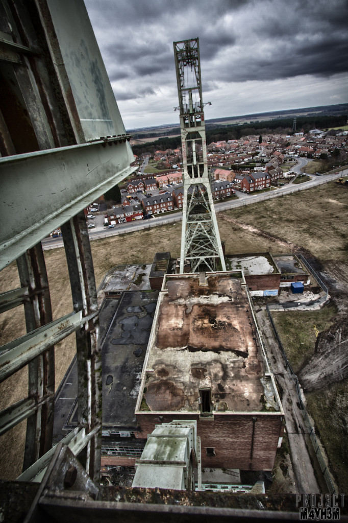 Clipstone Colliery - Up High