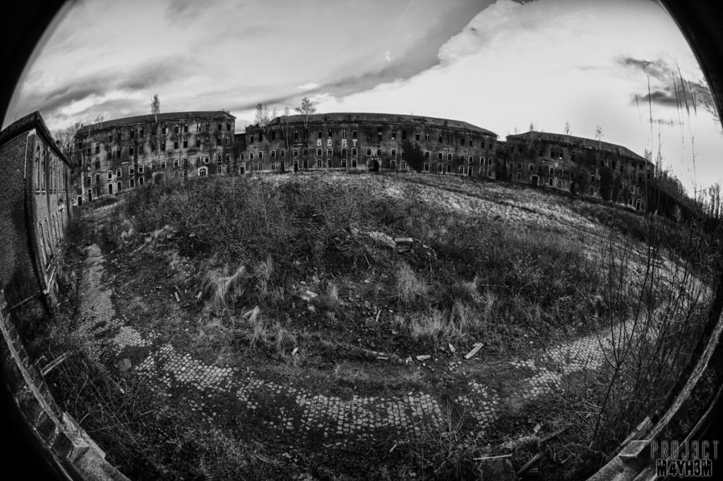 Fort de la Chartreuse Liege Belgium