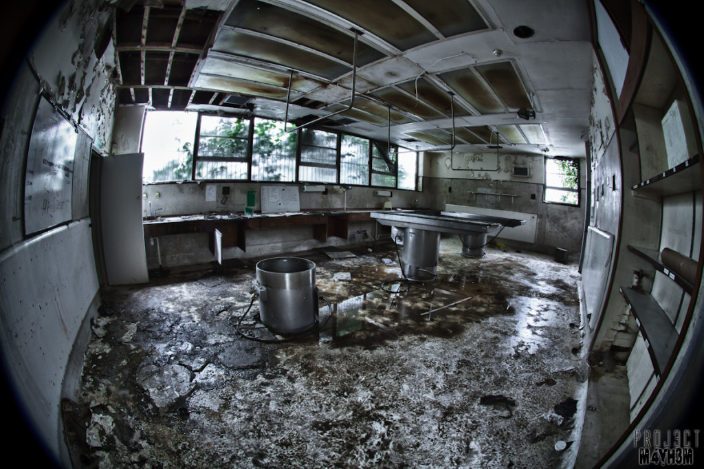 Morgue P - What it looks like now...