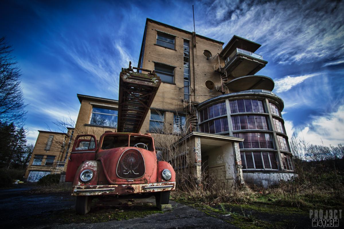 Preventorium Dolhain TB Hospital - Fire Truck