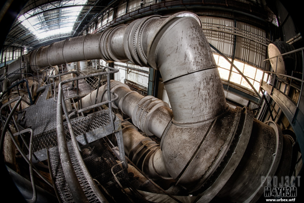 National Gas Turbine Establishment aka NGTE Pyestock - Cell 4 Pipework