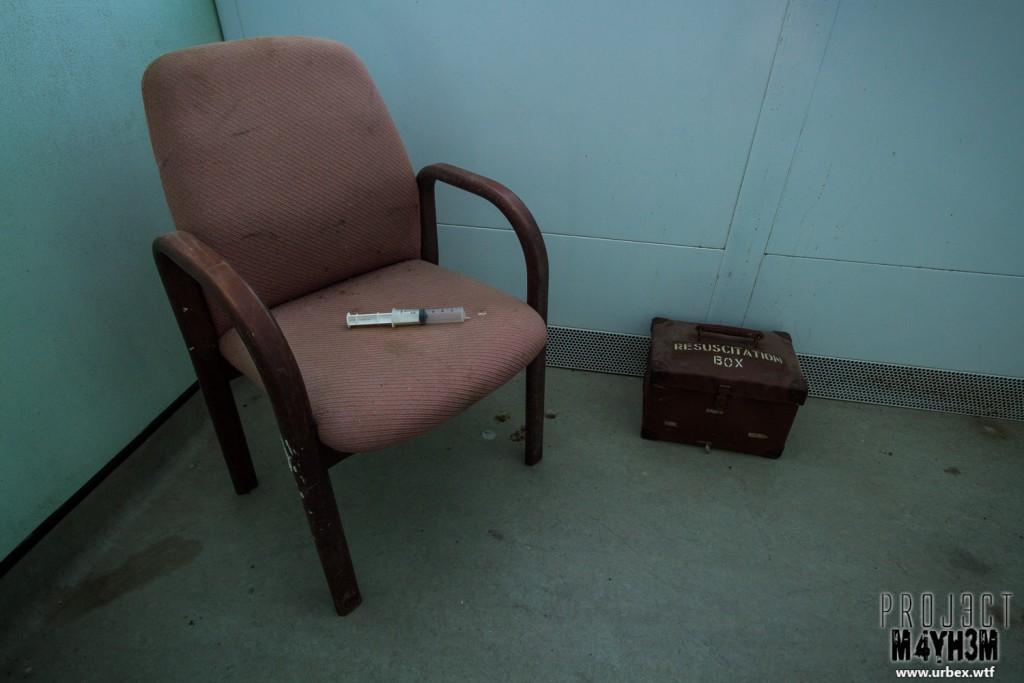 Rossendale General Hospital - Resusitation