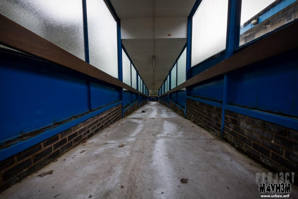 Rossendale General Hospital - Corridor