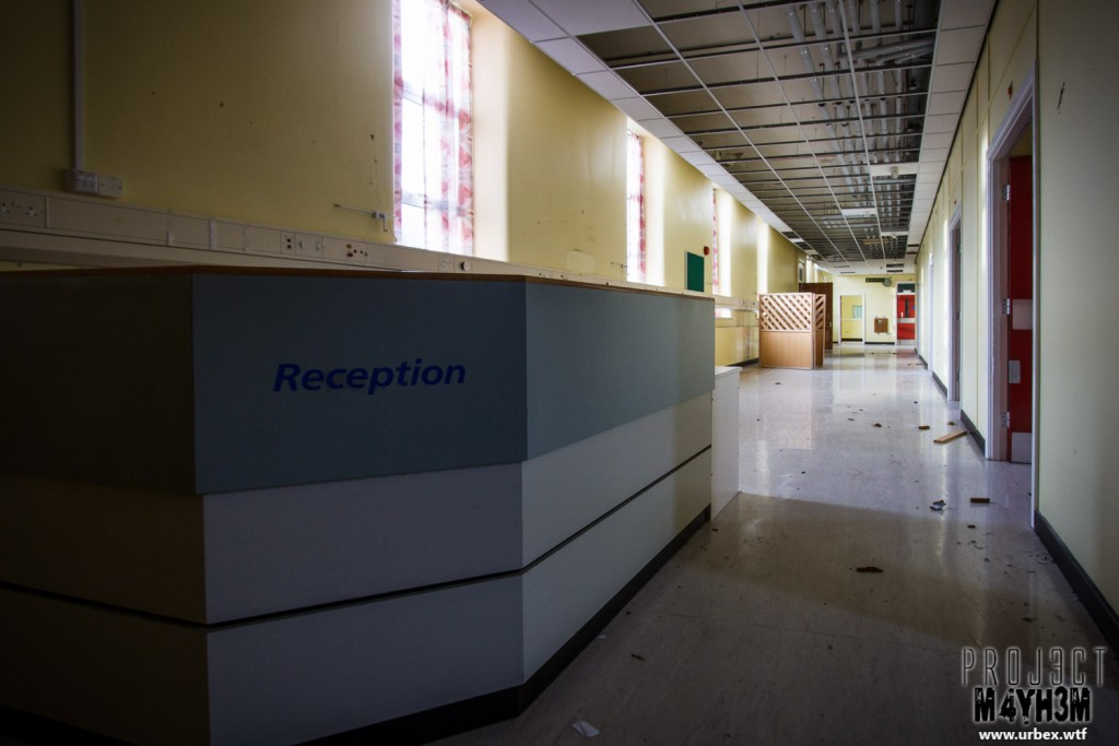 Rossendale General Hospital - Reception