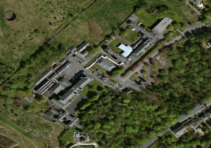 Rossendale Hospital Areal Image