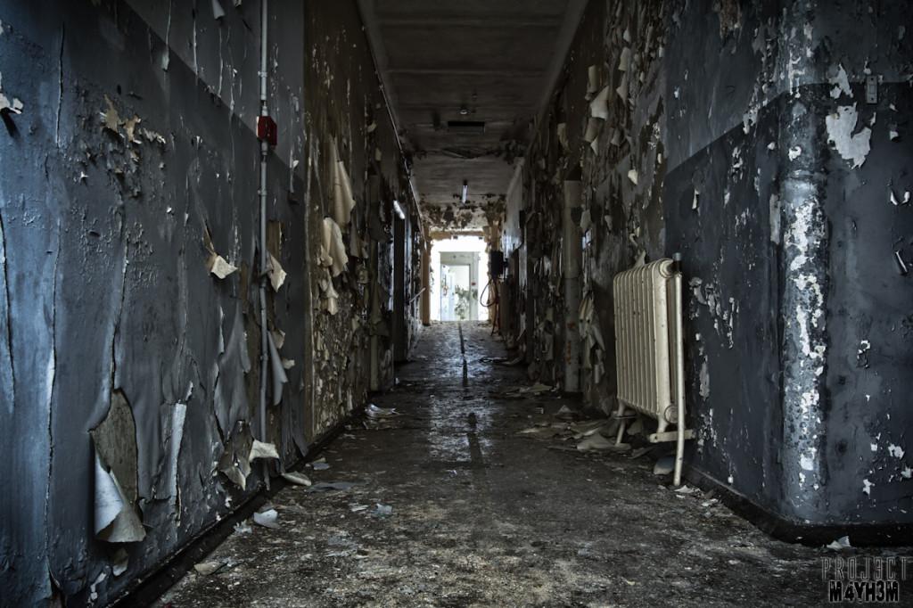 CMH aka The Cambridge Military Hospital - Corridor