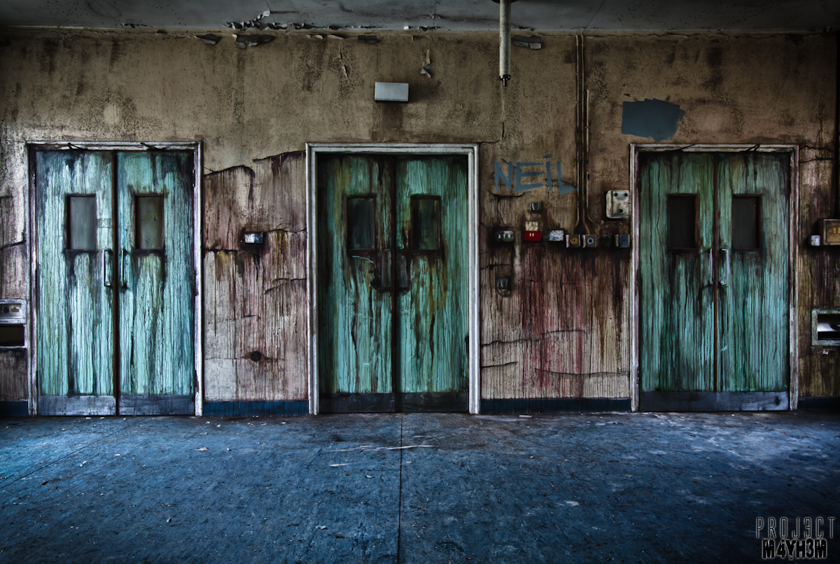 Urbex: CMH aka The Cambridge Military Hospital, United Kingdom - February 2013PROJ3CTM4YH3M ...