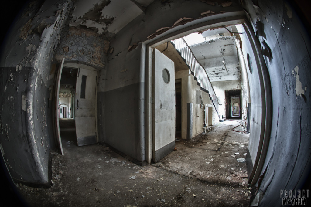 CMH aka The Cambridge Military Hospital - Corridors