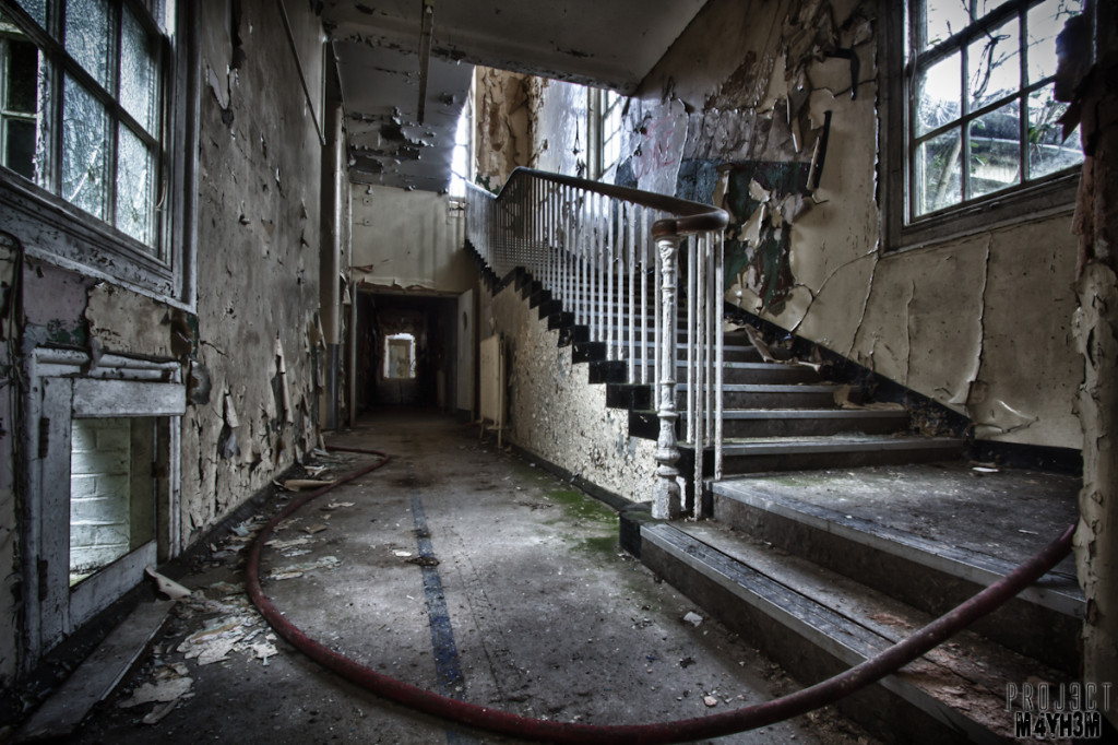 CMH aka The Cambridge Military Hospital - Staircase