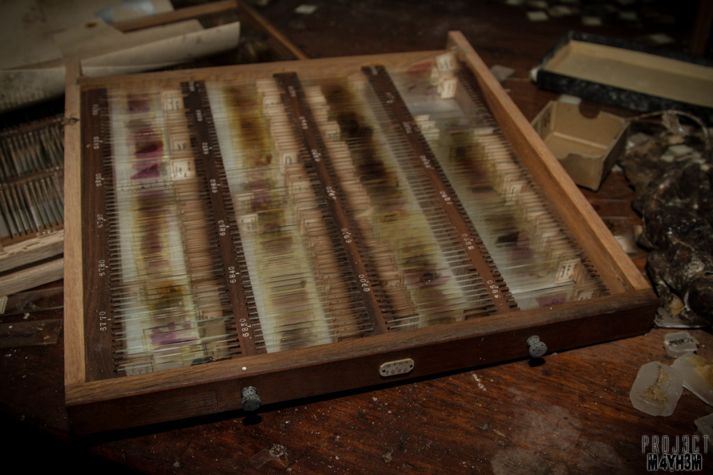 West Park Asylum Asylum Morgue, Mortuary and Histopathology Department - Blood Slides