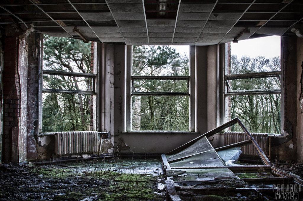 Whittingham Asylum - Bay Window