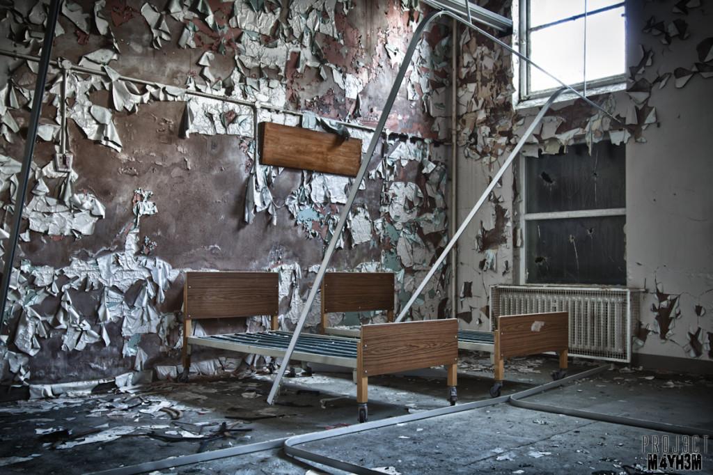 Whittingham Asylum - Beds