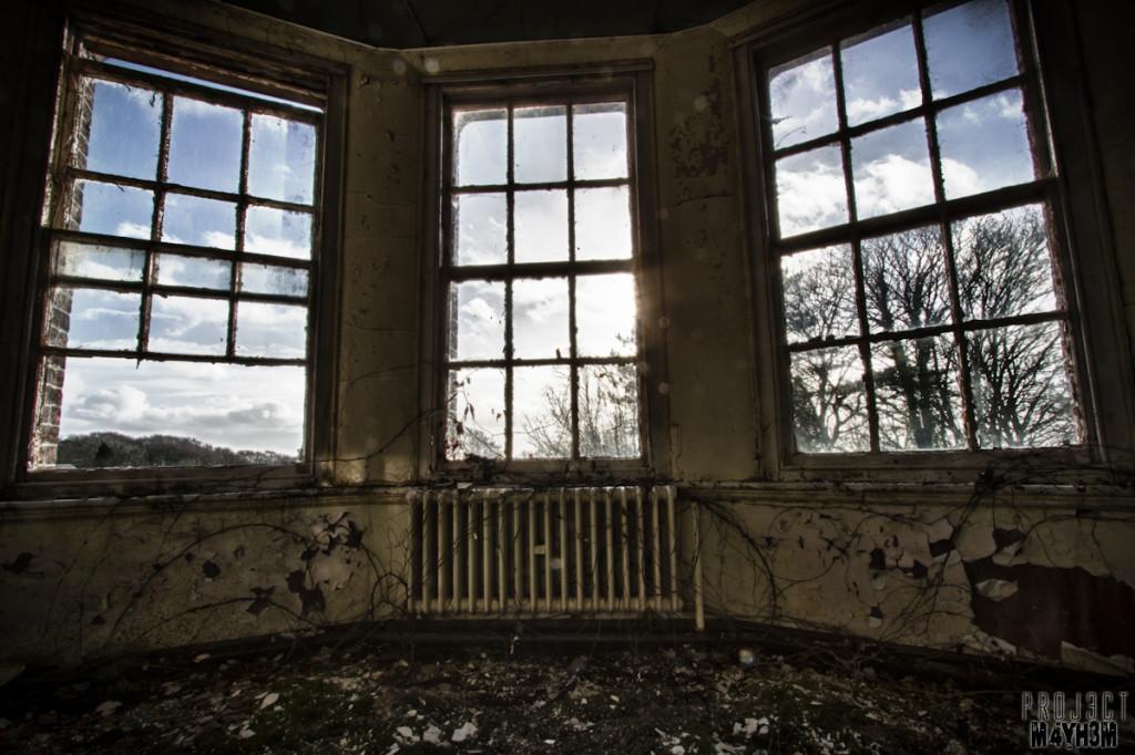 Whittingham Asylum - Bay Window