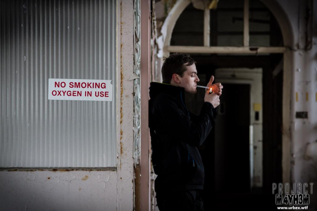 Mansfield Hospital - No Smoking